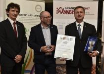 Vyhlášení Grand Prix Vinex 2017